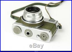Camera Werra Green Rangefinder Zeiss Tessar 50mm Mint Box