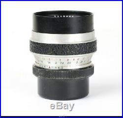 Camera Werra Matic RF With Zeiss Flektogon 35mm Tessar 50mm Cardinar 100