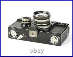 Camera Zeiss Ikon Black Contax I With Sonnar 2/5cm Black Nickel EX