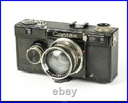 Camera Zeiss Ikon Contax I Black With Zeiss Sonnar 2/5cm Black Nickel