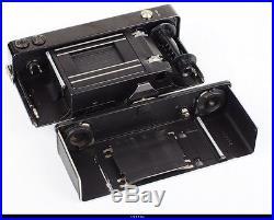 Camera Zeiss Ikon Contax I Lens Black Nickel Zeiss Tessar 3.5/5cm