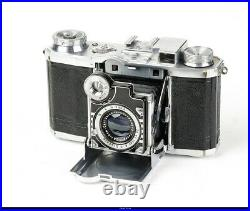 Camera Zeiss Ikon Super Nettel 35mm Chrom Tessar 2,8/5cm