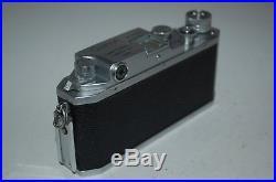 Canon-4sb Vintage 1952 Japanese Rangefinder Camera. Serviced. No. 137253. UK Sale