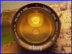 Canon 7 Rangefinder 50mm F0.95 lens Canon metal cap Sony Nikon Fujifilm Pentax