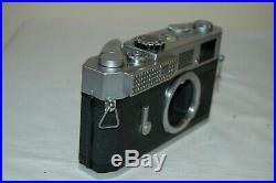 Canon-7 Vintage 1965 Japanese Rangefinder Camera. Serviced. No. 820458. UK Sale