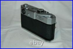 Canon-7 Vintage 1965 Japanese Rangefinder Camera. Serviced. No. 829065. UK Sale