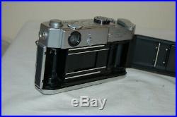 Canon-7 Vintage 1965 Japanese Rangefinder Camera. Serviced. No. 844379. UK Sale