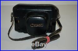 Canon-7 Vintage 1965 Japanese Rangefinder Camera. Serviced. No. 845101. UK Sale