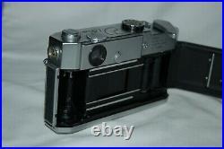 Canon-7 Vintage 1965 Japanese Rangefinder Camera. Serviced. No. 848393. UK Sale