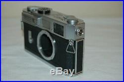 Canon-7 Vintage 1965 Japanese Rangefinder Camera. Serviced. No. 853611. UK Sale