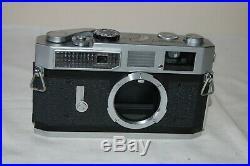 Canon-7 Vintage 1965 Japanese Rangefinder Camera. Serviced. No. 869353. UK Sale