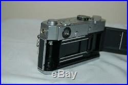 Canon-7 Vintage 1965 Japanese Rangefinder Camera. Serviced. No. 882263. UK Sale