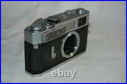 Canon-7 Vintage 1965 Japanese Rangefinder Camera. Serviced. No. 886772. UK Sale