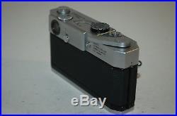 Canon-7 Vintage 1965 Japanese Rangefinder Camera. Serviced. No. 908385. UK Sale