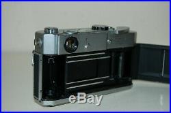 Canon-7 Vintage 1965 Japanese Rangefinder Camera. Serviced. No. 909883. UK Sale