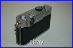 Canon-7 Vintage 1965 Japanese Rangefinder Camera. Serviced. No. 921247. UK Sale