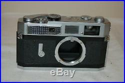 Canon-7 Vintage 1965 Japanese Rangefinder Camera. Serviced. No. 933030. UK Sale