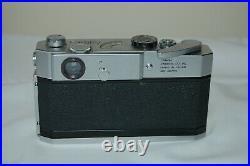 Canon-7 Vintage 1965 Japanese Rangefinder Camera. Serviced. No. 997701. UK Sale