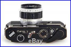 Canon 7 black paint // 28730,2
