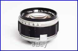 Canon 7 w. 1.2/50mm & Box