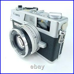 Canon Canonet QL17 GIII QL 35mm Vintage Film Rangefinder Camera Canolite D Flash
