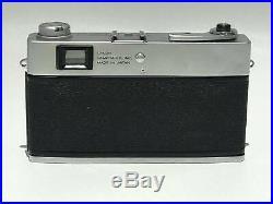 Canon Canonet QL17 rangefinder 35mm film camera vintage 45mm lens