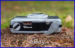 Canon Demi 35mm Film Camera retro vintage classic rangefinder great for lomo