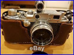 Canon EP II-F Rangefinder Vintage 35 mm Film Camera with50 mm Len. Mint