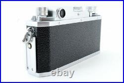 Canon IIF E. P Rangefinder MF FILM CAMERA Leica L39 Mount Japan Exc+++++