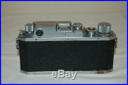 Canon IIIa (3A) Vintage 1949 Japanese Rangefinder Camera. Service 61049. UK Sale
