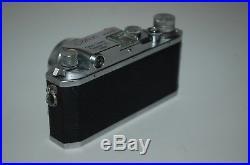 Canon-IId (2D) Vintage Rangefinder Camera. Canon 1.8/50 Lens. 83725. UK Sale