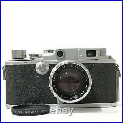 Canon IVSb 35mm Film Rangefinder Camera with 50mm f/1.8 Leica Screw AS-IS TK03T