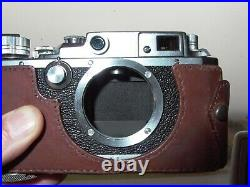 Canon IVSb Rangefinder Camera Body 1954 # 85585 TESTED Nice