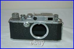 Canon IVsb 4SB Vintage 1952 Japanese Rangefinder Camera. Service. 97799. UK Sale