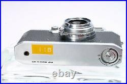 Canon Iib 35mm Film Rangefinder Camera Ltm #34636 + Serenar 28mm F/3.5 Lens Mioj