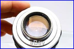 Canon Iiia Rangefinder Camera #71520 + 50mm F/1.2 Ltm Leica M39 Lens