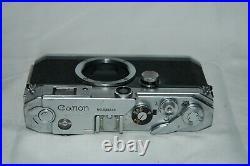 Canon-L3 Vintage 1958 Japanese Rangefinder Camera. Serviced. No. 570505. UK Sale