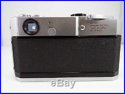 Canon Model 7 Rangefinder camera Leica screw Mount