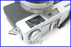 Canon New Canonet QL17-L 40mm F/1.7 Rangefinder 35mm FILM CAMERA Free Shipping