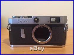 Canon P Rangefinder Camera