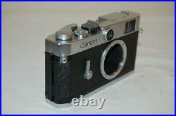 Canon-P TE Vintage 1958 Japanese Rangefinder Camera. Serviced. 708357. UK Sale