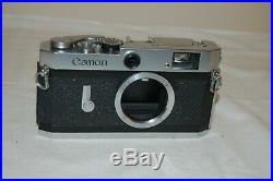 Canon-P Vintage 1958 Japanese Rangefinder Camera. Service. No. 720344. UK Sale