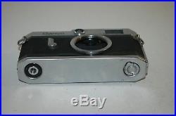Canon-P Vintage 1958 Japanese Rangefinder Camera. Serviced. No. 717074. UK Sale