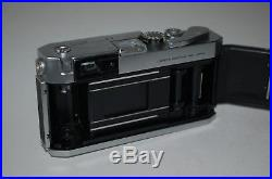 Canon-P Vintage Japanese Rangefinder Camera. Serviced. 725545. UK Sale
