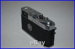 Canon-P Vintage Japanese Rangefinder Camera. Serviced. 758832. UK Sale