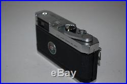 Canon-P Vintage Japanese Rangefinder Camera. Serviced. 765717. UK Sale