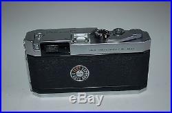Canon-P Vintage Japanese Rangefinder Camera and Lens. Serviced. 716006. UK Sale