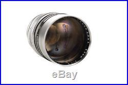 Canon Rangefinder 85mm f1.5 Rare 1952 Leica Screw mount lens