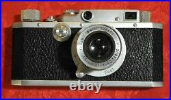Canon Rangefinder SEIKI-KOGAKU Camera with Nikkor 5cm f3.5 Lens Occupied Japan