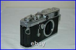 Canon-VL Vintage 1958 Japanese Rangefinder Camera. Serviced. No. 564070. UK Sale